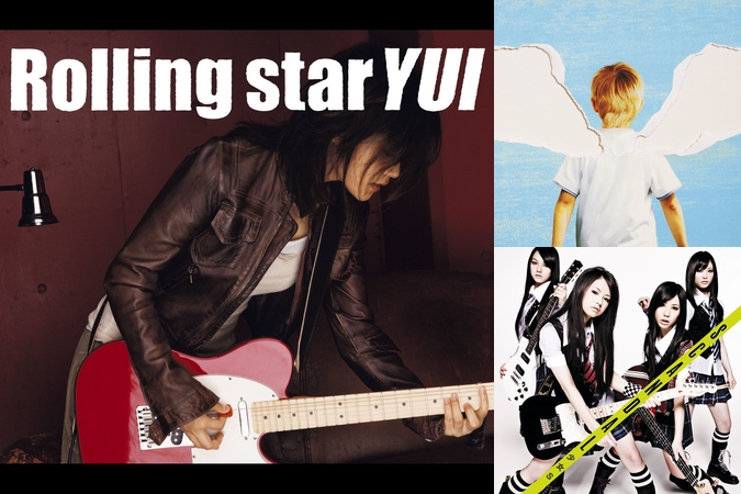 "Rolling star"" by YUI - トラッ..."